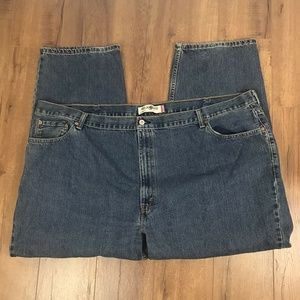 Levis Mens Jeans Size 54  Medium Wash 550 Relaxed